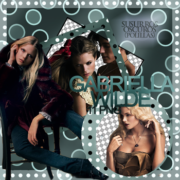 Gabriella Wilde - png pack 1 by Susurros-Oscuros