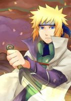Minato, the 4th hokage by Tenryuushi