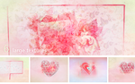 Textures: Big heart by So-ghislaine