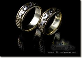 Claddagh Wedding Rings by raulsouza