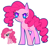pinkie redraw by dollieguts