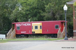 The Little Red Caboose by Rjet33