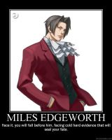 Miles Edgeworth by UzumakiSonic619