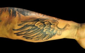 the angel's wing by justTattoo