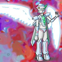Angel tf for Uriel by Jormungander