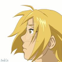 Edward Elric - Short Wind Animation by FlorideCuts