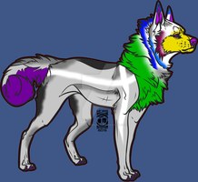 Wolf Adopt -OPEN- Price Reduced! by CrimsonnWolfe