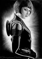 Quorra - Tron:Legacy by TinniTheTwilightGirl