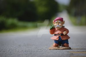 Gnome road home by HoneyV1106