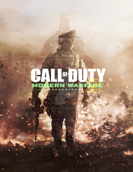 COD Modern Warfare 2 Remastered - Leaked Cover by BlacksmithTattoo