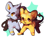 Shinx by foxlett