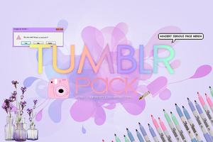 Tumblr Pack by iSatQuietly