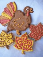 Assorted Fall Cookies by eckabeck