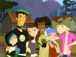TOTAL... DRAMA... 6TEEN?!? by daanton