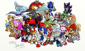 Sonic Team Generations by Beaven1302