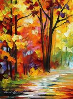 Good morning by Leonid Afremov by Leonidafremov
