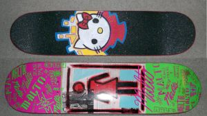 Custom Hello Kitty Griptape by EmeyeX