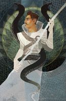 Dorian of House Pavus by scrii