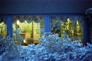 cozy winter windows by 6igella