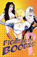 Fighting for Boobies by Bill-Pulkovski