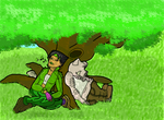 Chillin' in the Shade - Full Pic by Freezair
