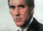 Christopher Lee by shadowhurts
