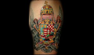 Hungary by redliontattoo