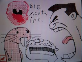 Barkin's Big Mouth...Literaly by jordyxlife