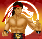 Liu Kang for blueamnesiac by Contentious-Tiger