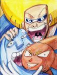 Bobobo Donpatch And Jellyjiggler by dulest9494