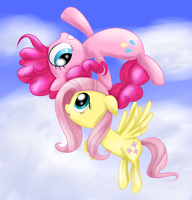 Pinkie you're........flying? by PoisonicPen