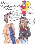 Merry Christmas Ashley! .:2012:. by kawaiiwolves