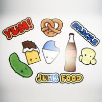 Starprints Junk Food Stickers by starprints