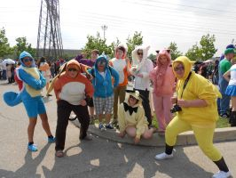 Anime North 2012 - Pokemon Group by TehTig3r
