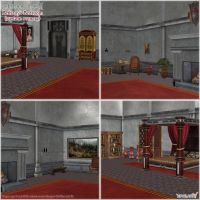 Dragon Age 2: Bethany's Bedroom scenery (UPDATED) by Berserker79