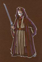 Obi Wan Kenobi by C. Rousseau by shelbysnake