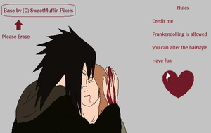 Obito and oc base by SweetMuffin-Pixels