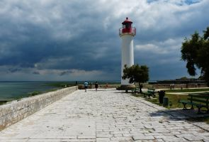 THUNDER AND LIGHTHOUSE by Dieffi