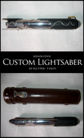 Custom lightsaber set by Azenor-stock