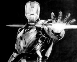 Iron-Man by Maciek97x