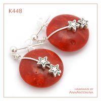 Coral with Stars - K448 by AnnAntonina