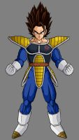 Vegetto Saiyan Armor by theothersmen