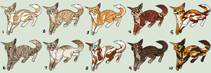 Emergency Funds Adoptables Set 1 :OPEN: by indesomniac