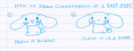how to draw cinnamoroll... jk by ilovegravy