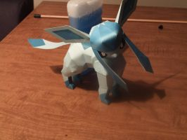 Glaceon Papercraft 1-1 by Gradendine