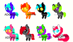 Baby pony adopt! FREE (CLOSED) by killerpinkiepie12