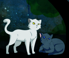 BlueStar and Whitestorm by saeru-bleuts