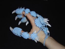 Ice Claw Gauntlet 2 by RedDragonTyr