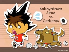 Eyeshield 21: Sena vs Cerberos by HNDRNT26