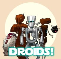 Droid Heroes by Ryan-Rhodes